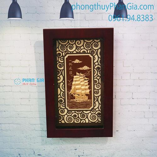 Tranh Vàng Thuận Buồm Xuôi Gió 25x40