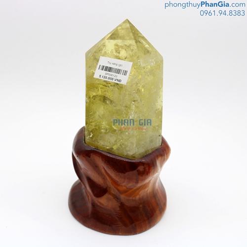 Trụ Đá Thạch Anh Vàng - 2430g