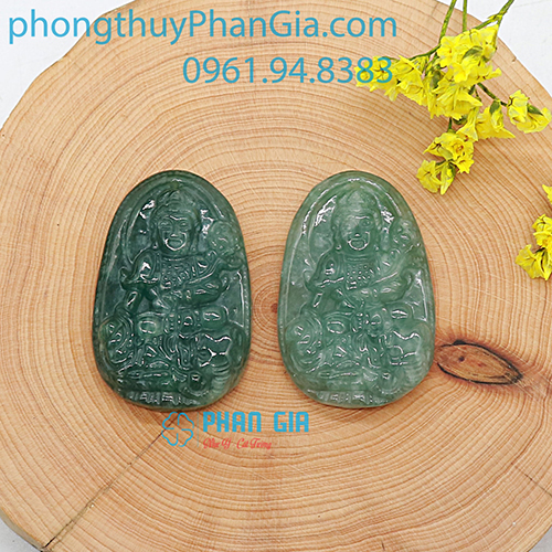 Mặt Phật Phổ Hiền Bồ Tát Ngọc