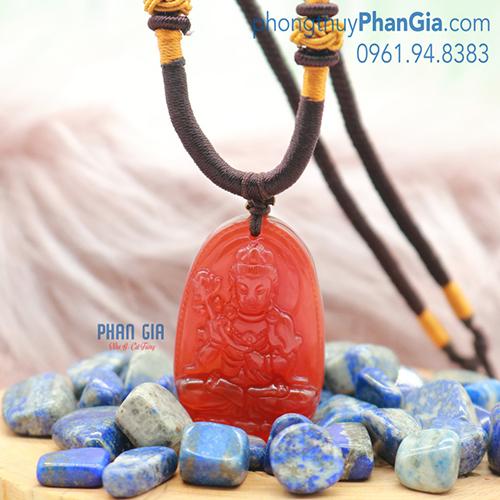 Mặt Phật Đại Thế Chí Bồ Tát Mã Não Đỏ